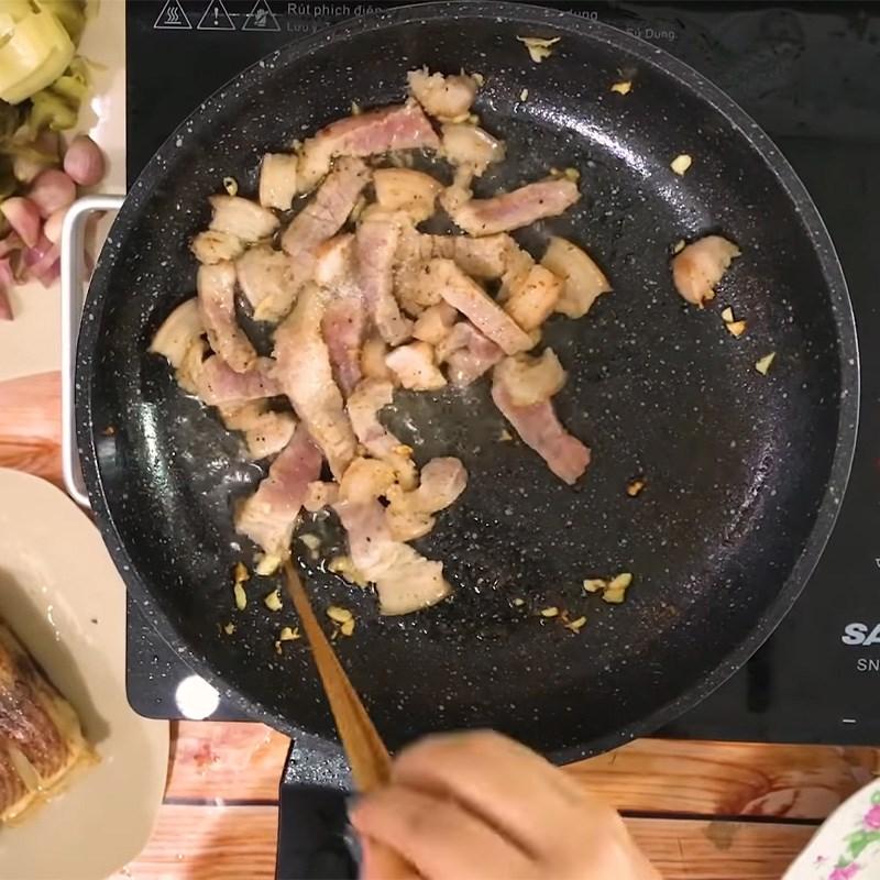 Chế biến cá diêu hồng nấu dưa chua thân thuộc và đưa cơm 7