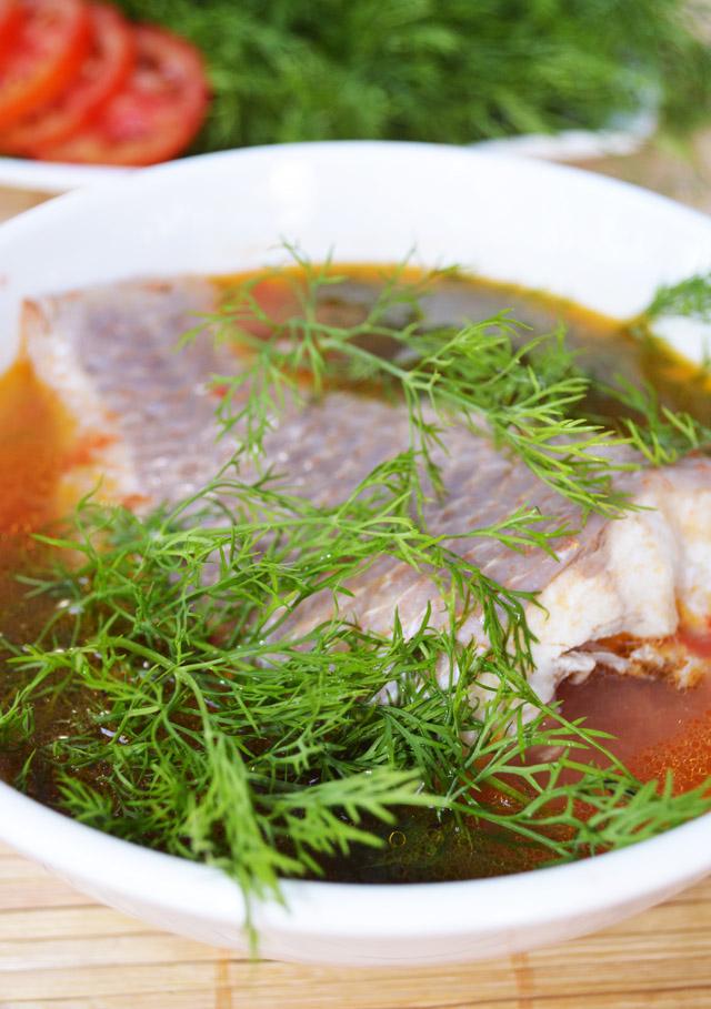 Thanh mát món canh cá diêu hồng nấu mẻ cho ngày hè oi bức 4