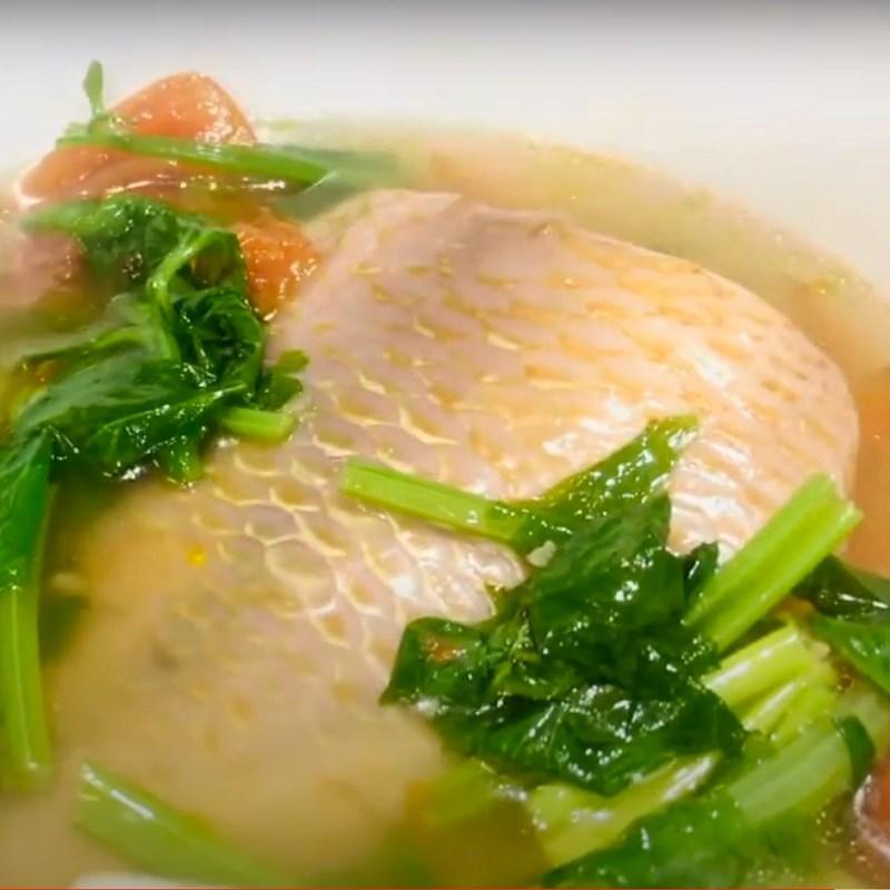 Cách chế biến món cá diêu hồng nấu ngót ngọt thanh 7