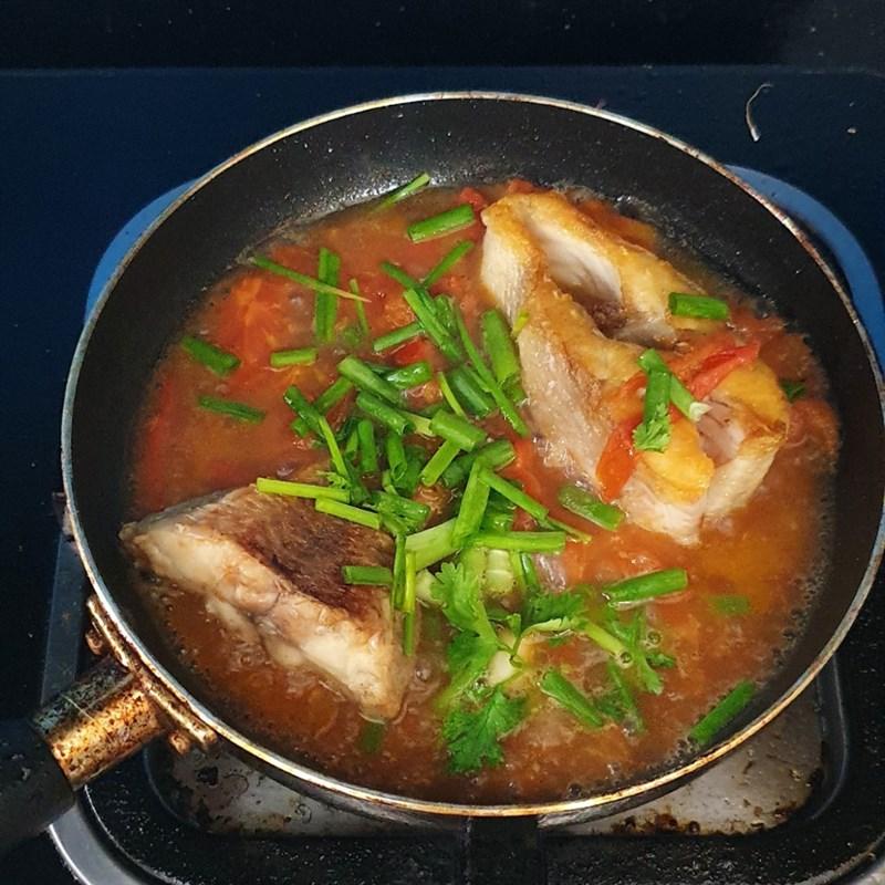 Cá diêu hồng sốt cà chua đưa cơm 7