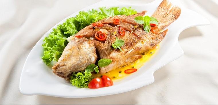 Cá diêu hồng sốt chanh dây chua thanh ăn dễ vào 1