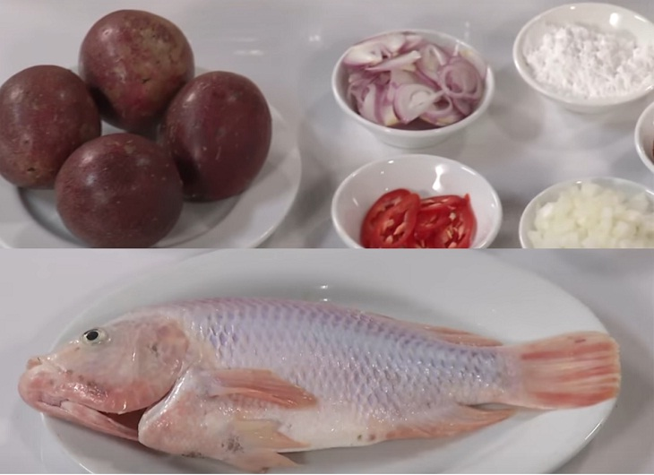 Cá diêu hồng sốt chanh dây chua thanh ăn dễ vào 2
