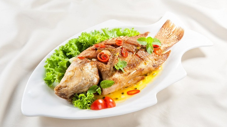 Cá diêu hồng sốt chanh dây chua thanh ăn dễ vào 7