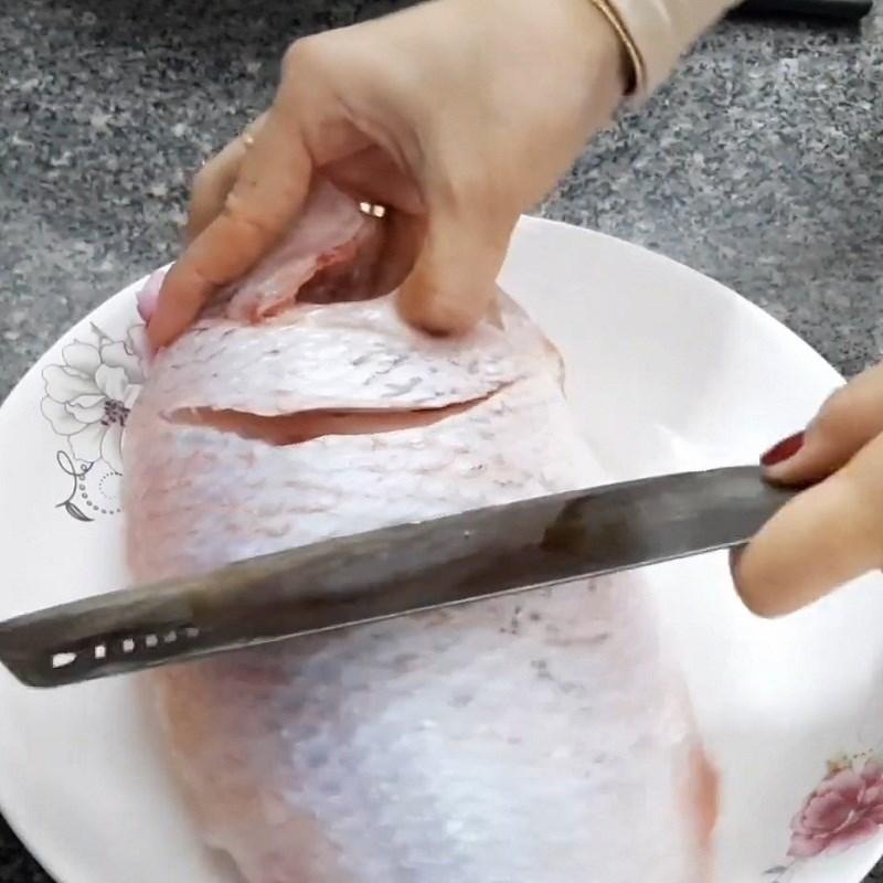 Cá diêu hồng sốt me chua ngọt dễ ăn 3
