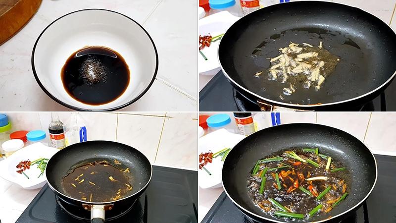 cá hồi áp chảo sốt xì dầu 3