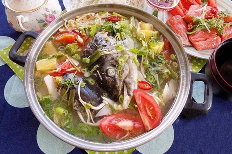 cá hồi nấu măng chua 3