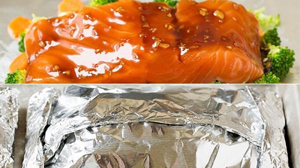 Cá hồi nướng giấy bạc đơn giản mà thơm ngon và giàu dưỡng chất 4