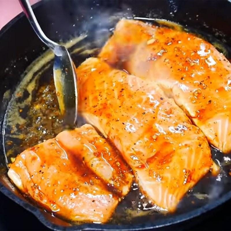 cá hồi nướng mật ong 6