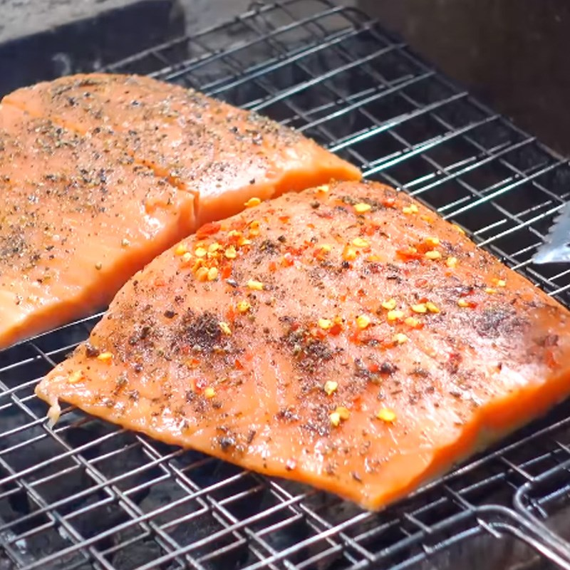 cá hồi nướng muối ớt 5