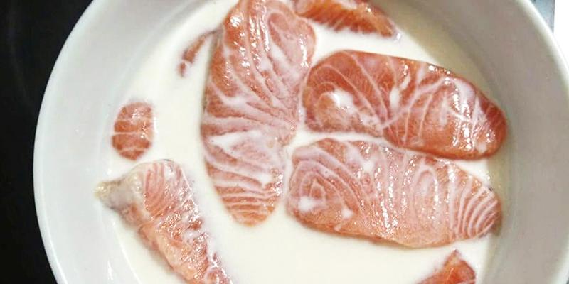 cá hồi sốt mayonnaise