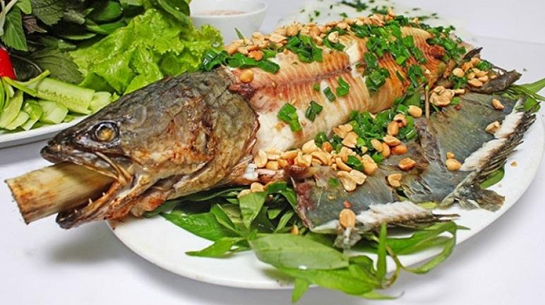 cá lóc nướng mỡ hành 5