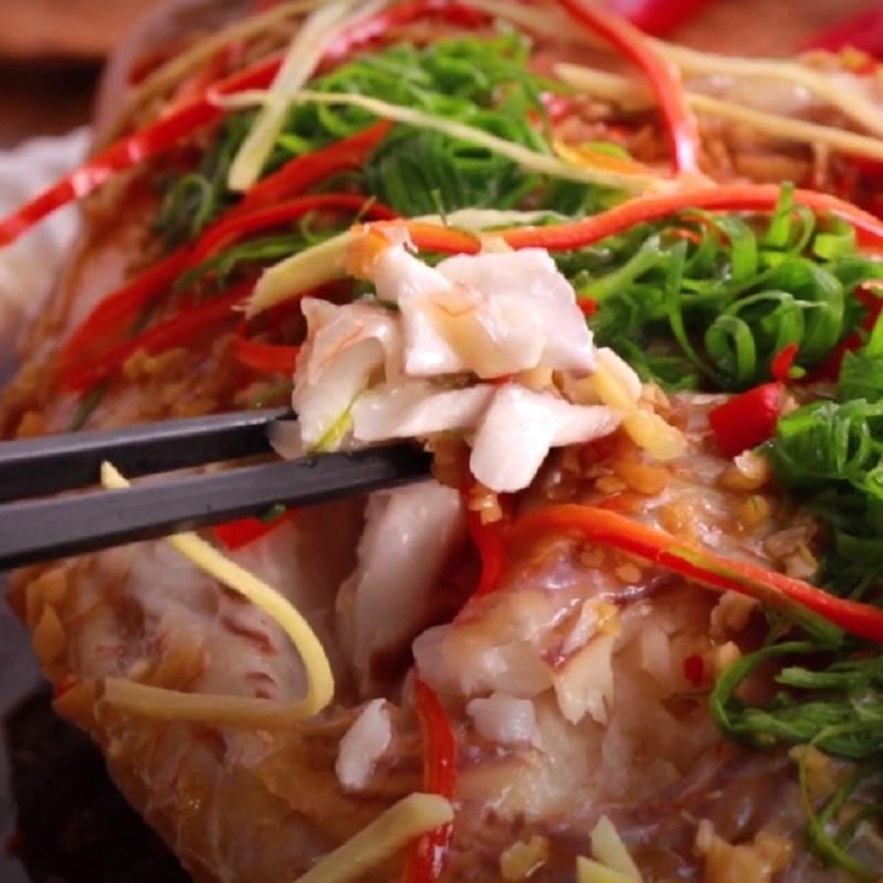 Cách làm cá diêu hồng hấp xì dầu 4