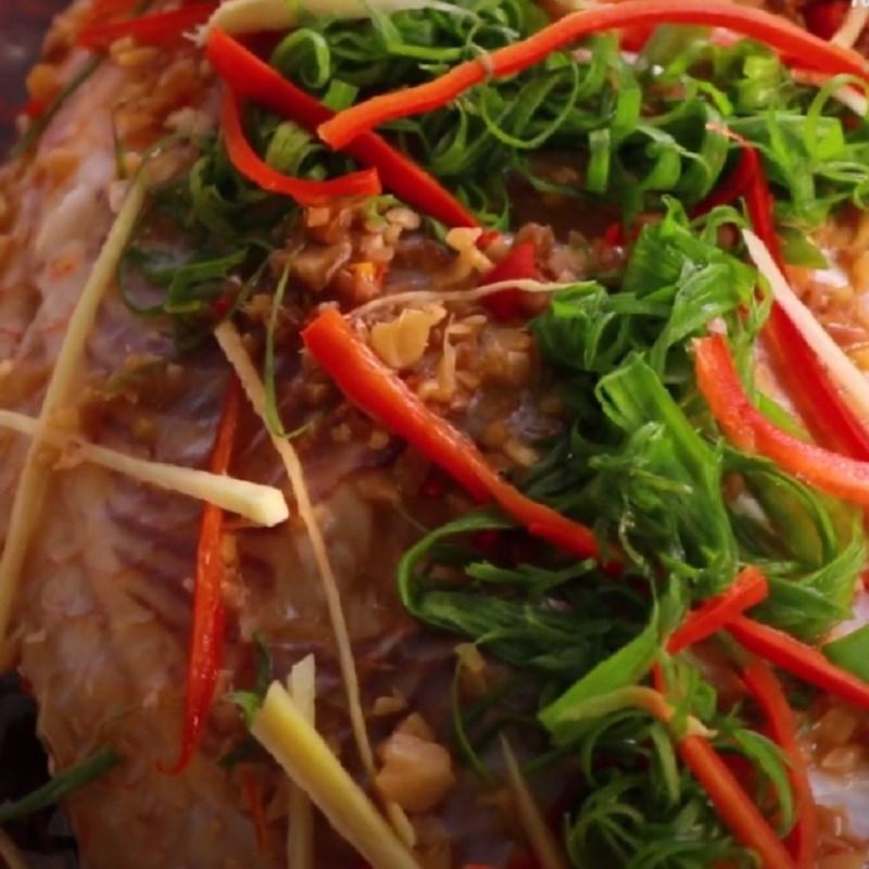 Cách làm cá diêu hồng hấp xì dầu 5