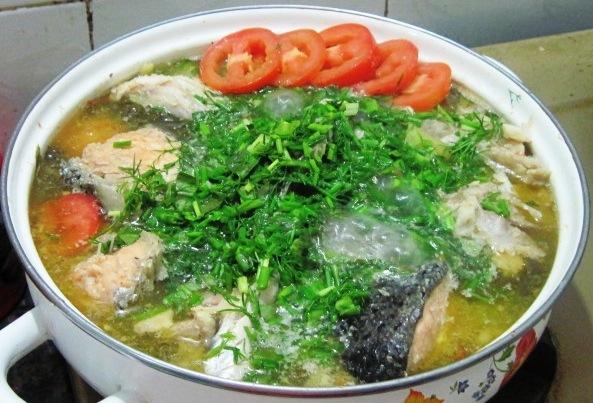 cách làm cá trê kho dưa chua 4