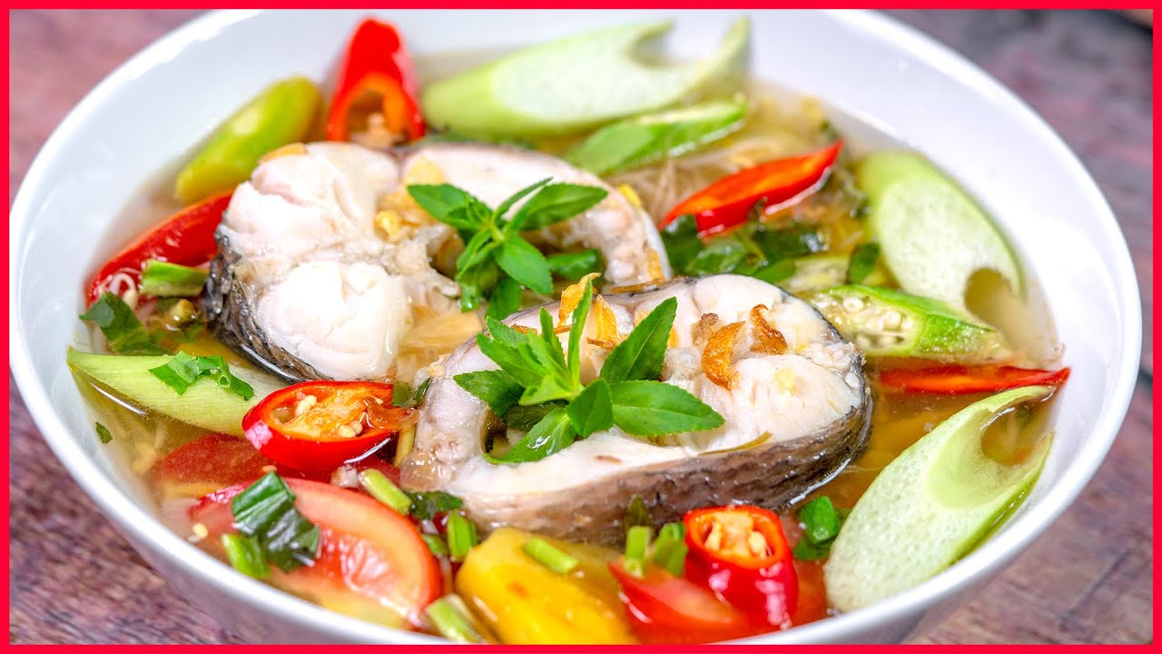 cách làm cá trê nấu canh chua 1