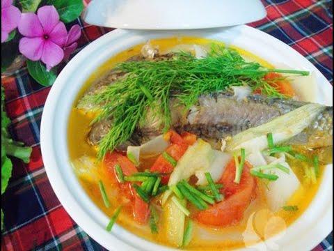 cách làm cá trê nấu canh chua 6
