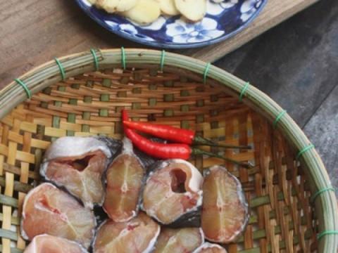 Cách làm cá trê om dưa 2