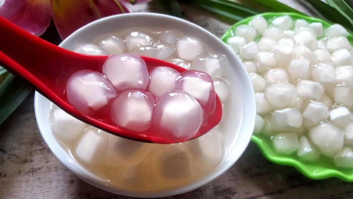 cách làm trân châu dừa 1