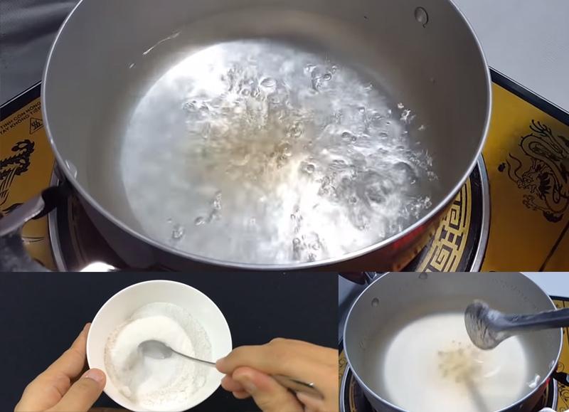 cách làm trân châu trắng giòn ngon bằng bột rau câu 1