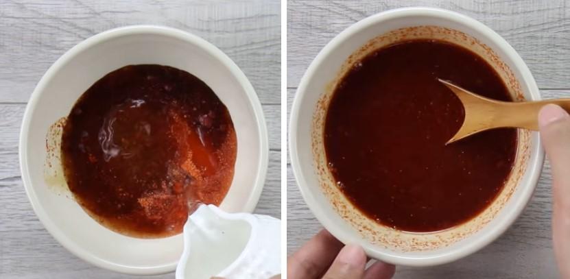 cách làm xúc xích sốt phô mai cay 4