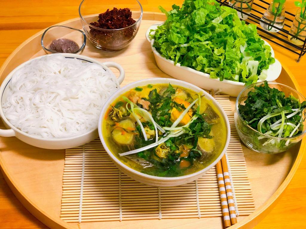 Cách nấu cá trê om chuối đậu 6