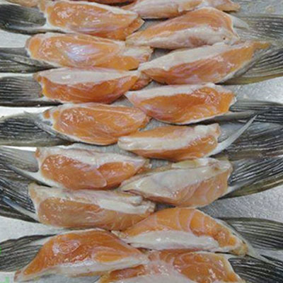 vây cá hồi chiên giòn 2