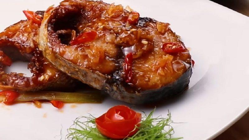 Cá ngừ chiên nước mắm 1