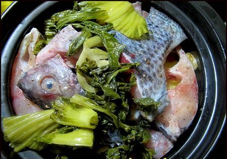 Cá rô phi kho 8