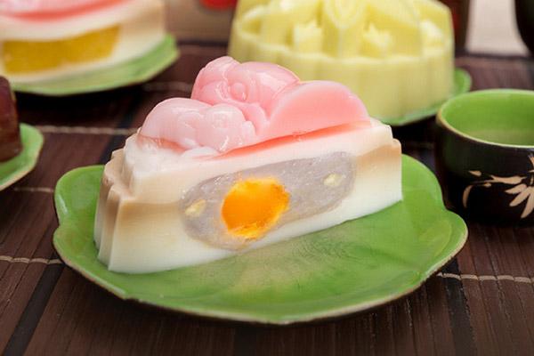 cách làm bánh trung thu rau câu nhân khoai môn trứng muối 4