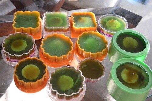 cách làm bánh trung thu rau câu nhân đậu xanh 5