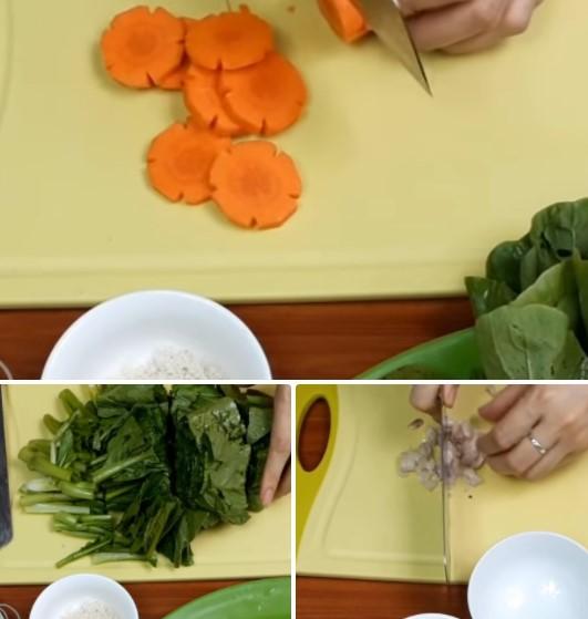 cách làm bún xào trứng 3