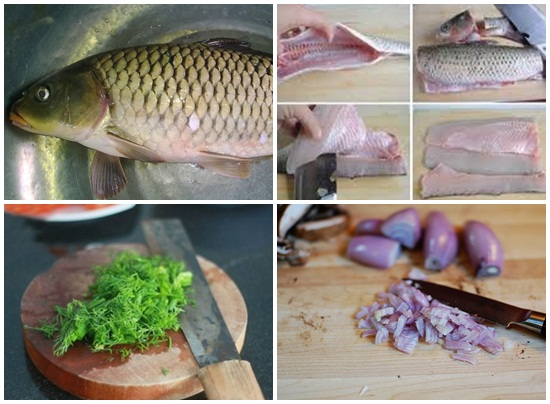 Cách làm chả cá chép 2