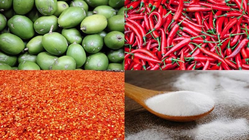 cách làm cóc lắc chua ngọt 1
