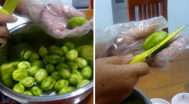 cách làm cóc lắc chua ngọt 2