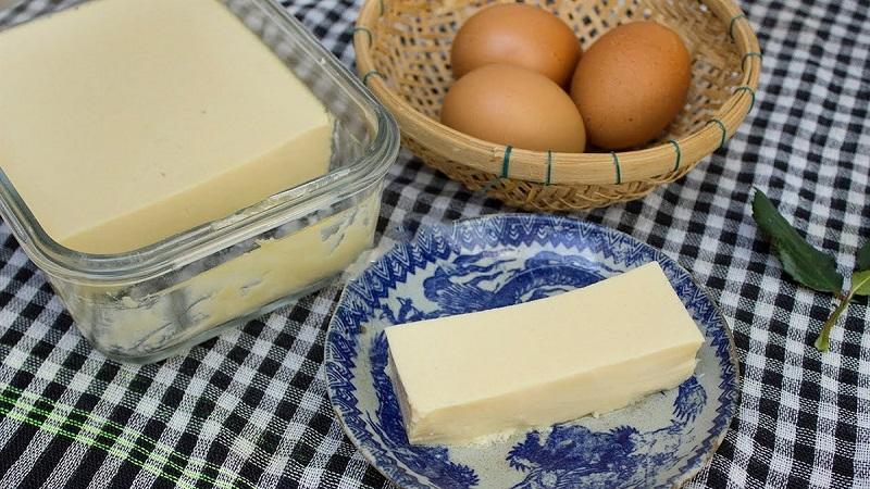 Cách làm đậu hũ non trứng 1