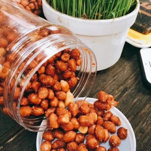 Cách làm đậu phộng rang tỏi ớt 1