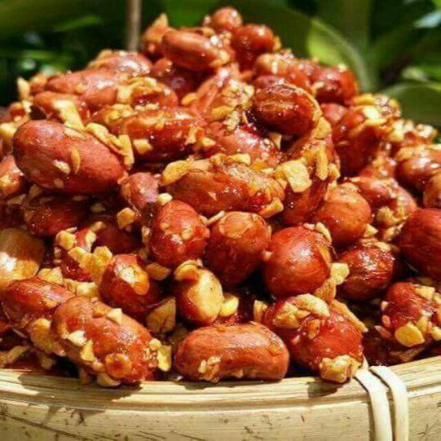 Cách làm đậu phộng rang tỏi ớt 3