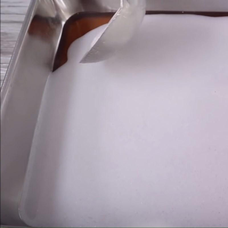 cách làm rau câu café với bột agar giòn 4