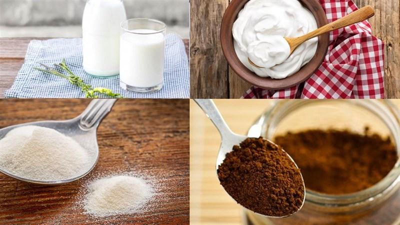 cách làm rau câu café với bột dẻo 1
