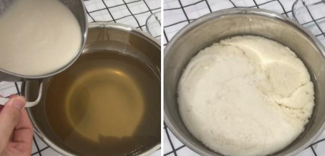 cách làm rau câu nước cốt dừa cà phê 4