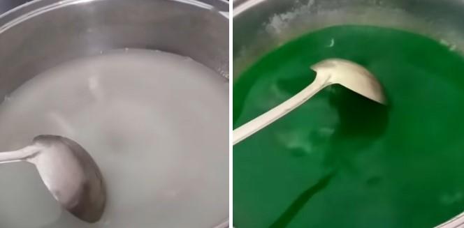 cách làm rau câu nước cốt dừa thạch lá dứa 3