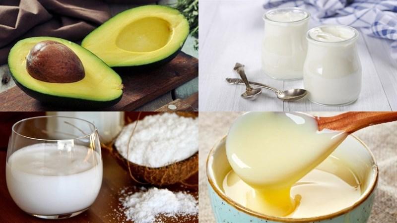 cách làm sinh tố bơ sữa chua 1