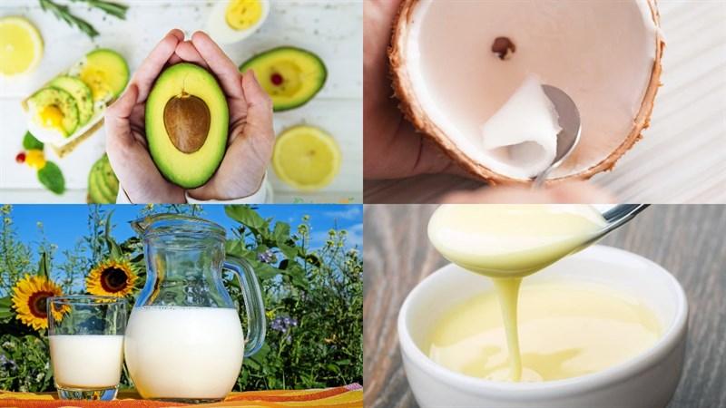 cách làm sinh tố bơ sữa dừa 1
