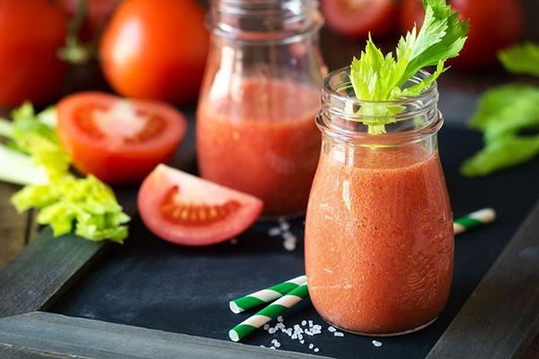 cách làm sinh tố cà chua tổng hợp 4