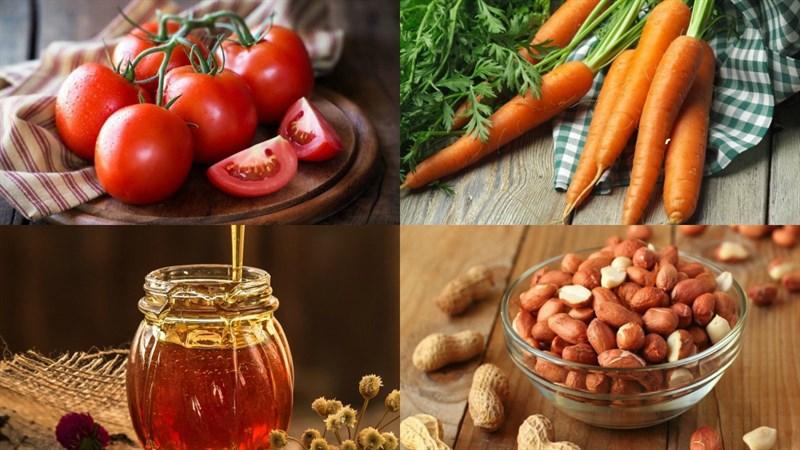 cách làm sinh tố cà chua cà rốt 1