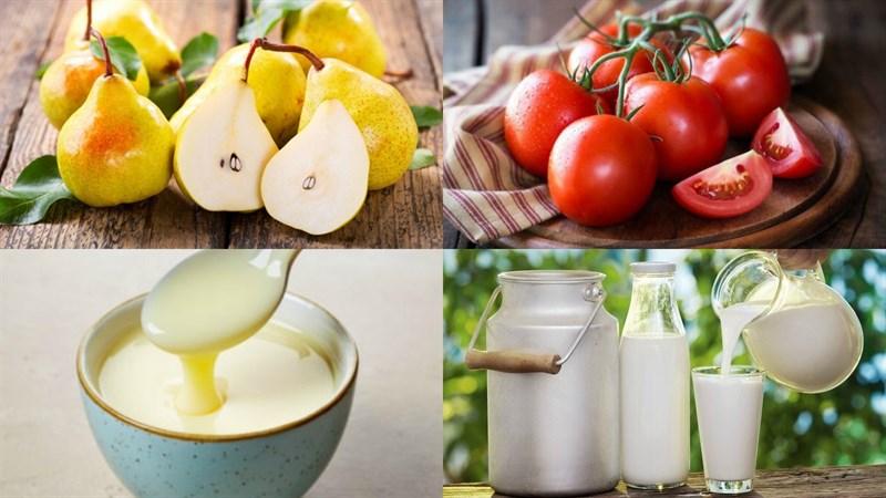 cách làm sinh tố cà chua lê 1
