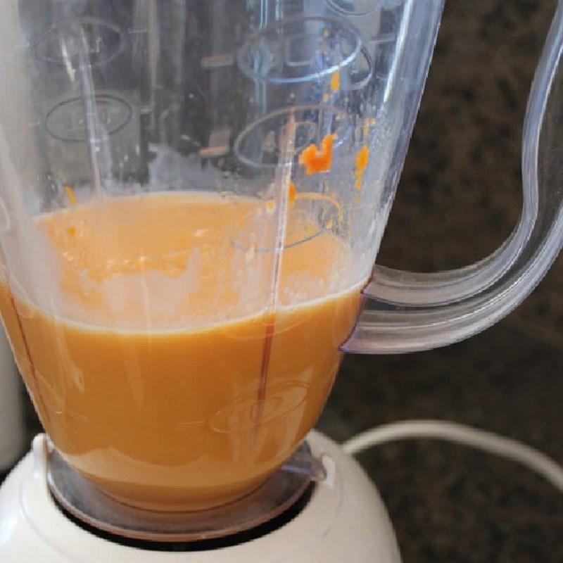 cách làm sinh tố cà rốt dứa 3
