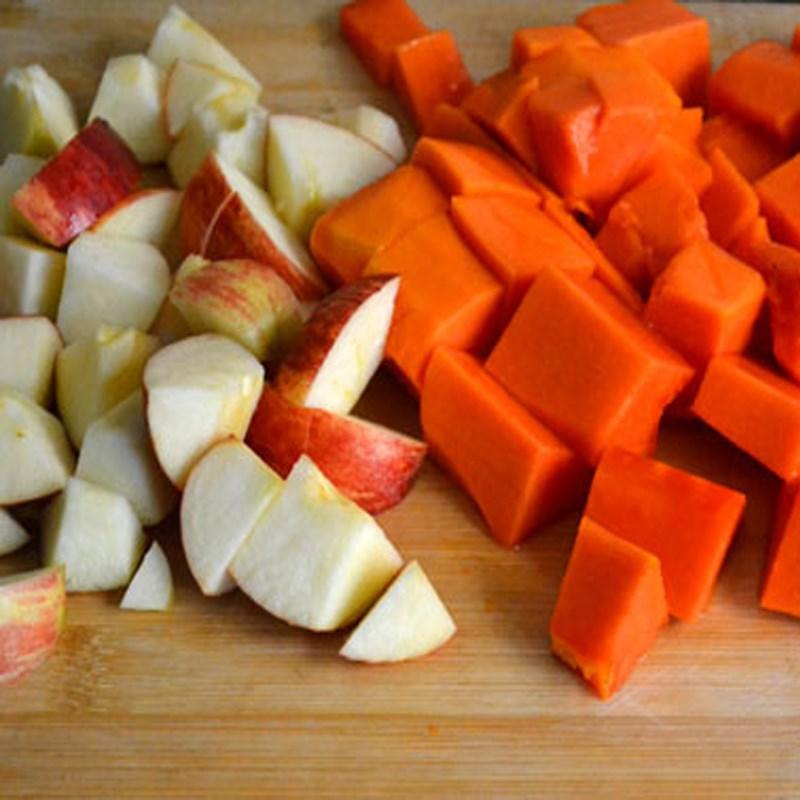 cách làm sinh tố đu đủ táo 2