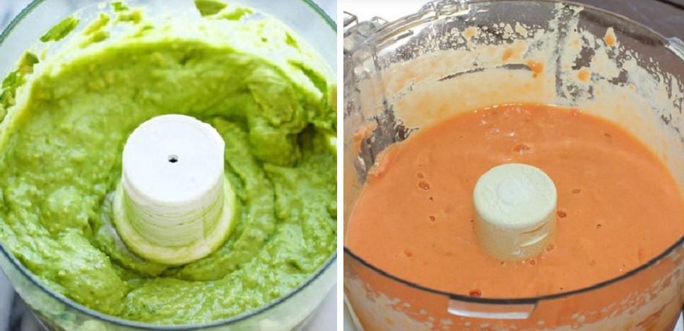 cách làm sinh tố đu đủ bơ 3