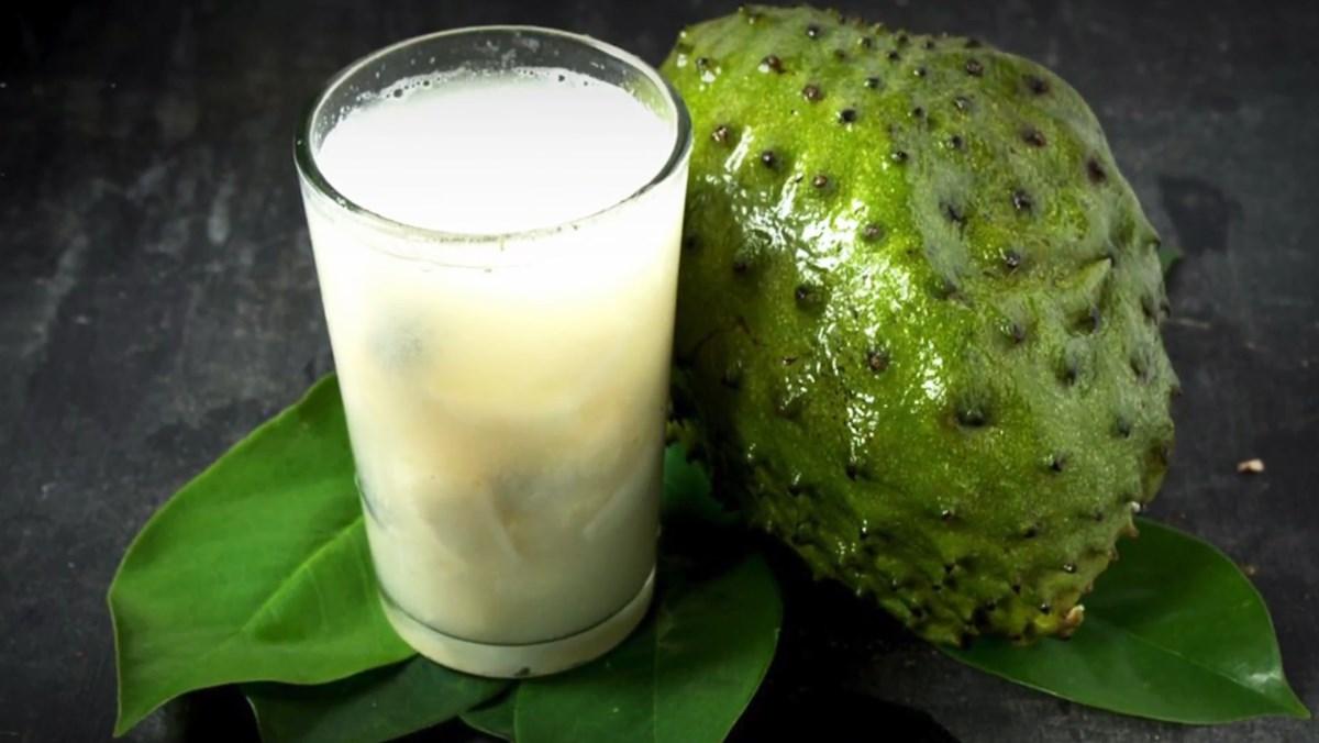 cách làm sinh tố mãng cầu sữa tươi 4